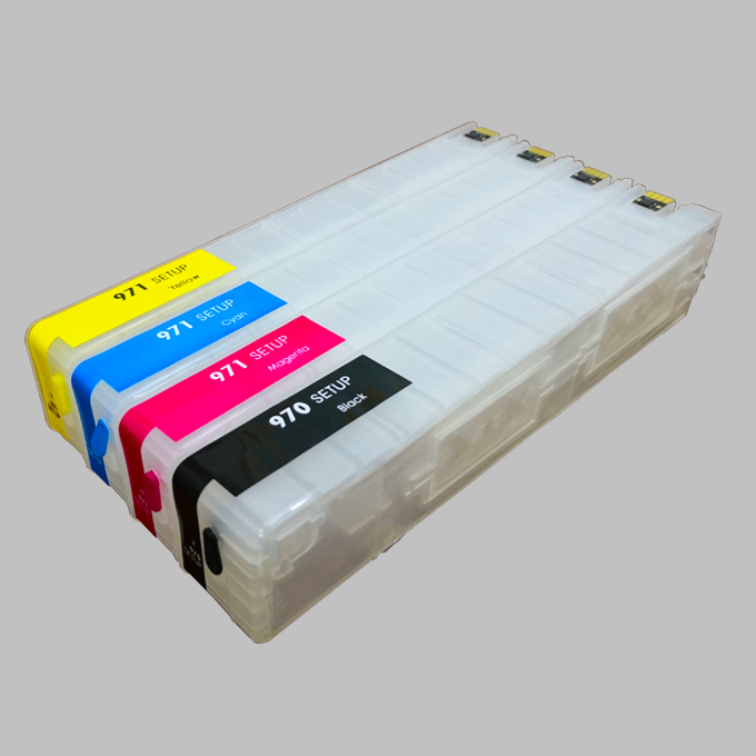 Refill ink cartridge Within ARC Chip 972 973 974 975 For HP PageWide Pro 477dw 452dw 552dw 577z 577dw Cartridge ink printers