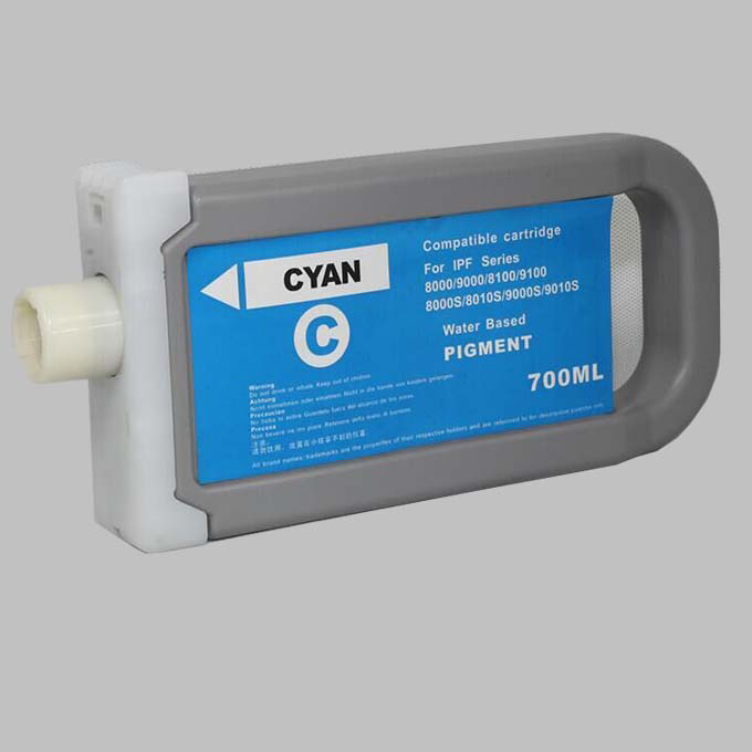 Compatible cartridge PFI-8306/PFI-8706 for Canon IPF9400S/LFP cartridge/wide format cartridge