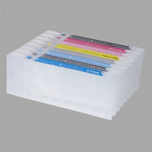 Refillable Cartridge for Epson Pro 7880C/9880C large format inkjet cartridge