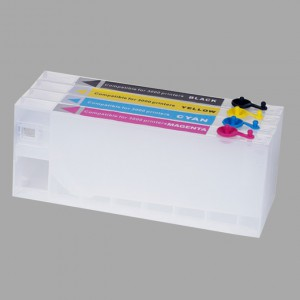Refillable ink cartridge for Epson Stylus Pro4400/LFP cartridge