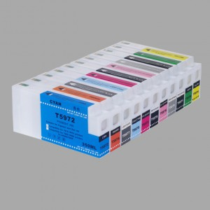 Compatible cartridge for Epson Pro7900/7910;9900/9910/LFP cartridge for EPSON 7900 350ML