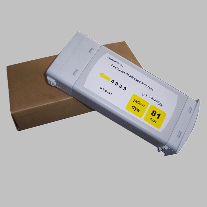 Compatible cartridge for HP80/LFP cartridge for HP 1050/1055
