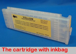 Refill cartridge for EPSON Sure color T3000/5000/7000 LFP cartridge