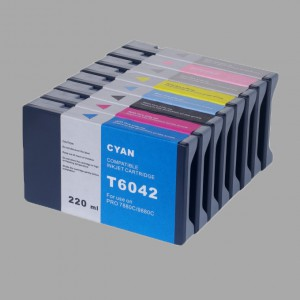 Compatible cartridge for Epson 7600/9600/4000/Large Format printer cartridge